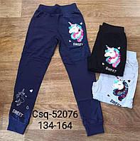 Спортивные штаны для девочек оптом, Seagull, 134-164 см,  № CSQ-52076