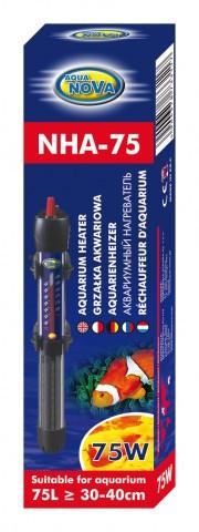 Нагрівач для акваріума AquaNova NHA-75 Вт