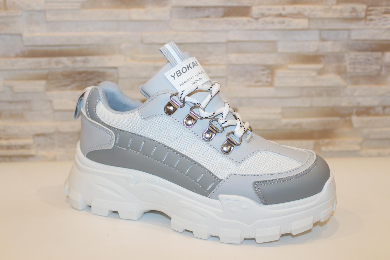 Кросівки жіночі сірі Т1223