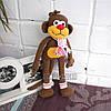 Вязаная обезьяна Тося