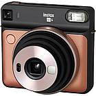 Фотокамера моментальной печати Fujifilm Instax Square SQ6 Gold, фото 2