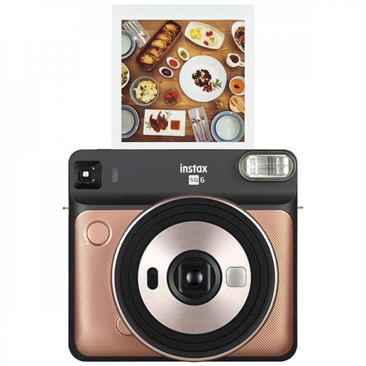 Фотокамера моментальной печати Fujifilm Instax Square SQ6 Gold