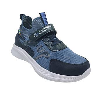Текстильные кроссовки от Том М мальчикам Весенние, легкие, голубые