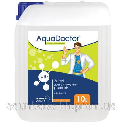 AquaDoctor pH Minus HL (Соляная 14%) 10 л