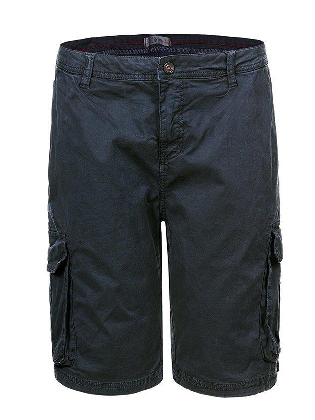 Мужские шорты с карманами в большом размере