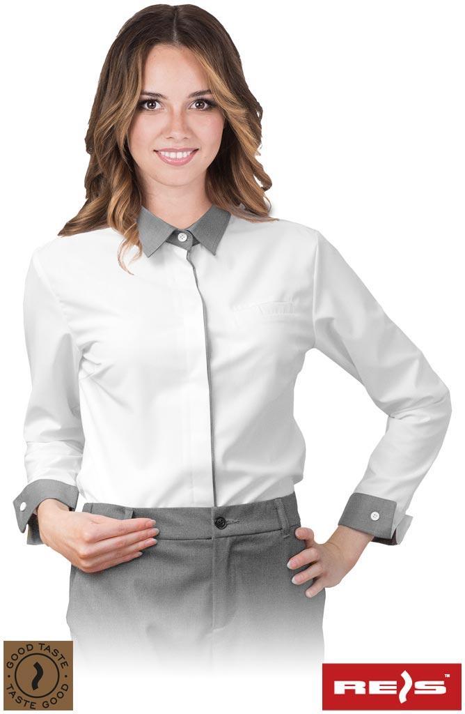 Сорочка жіноча на довгий рукав SOLENO-L, WS