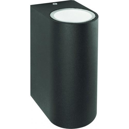 Настенный светильник Feron DH015 для подсветки фасадов черный под лампу GU10