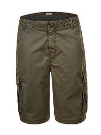 Чоловічі шорти з кишенями у великому розмірі