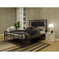 Кровать двухспальная в стиле Лофт, ЛЛ11, фото 1