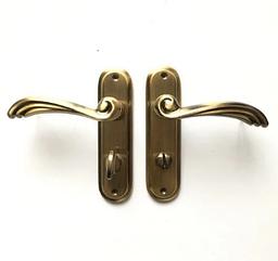 Дверная ручка-защелка Ozcanlar TUNA WC 62 мм Antik