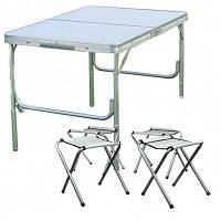Стол раскладной для пикника Picnic Table + 4 стула (6001)