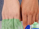 Маска пленка для рук с экстрактом зеленого чая 50 г, фото 2