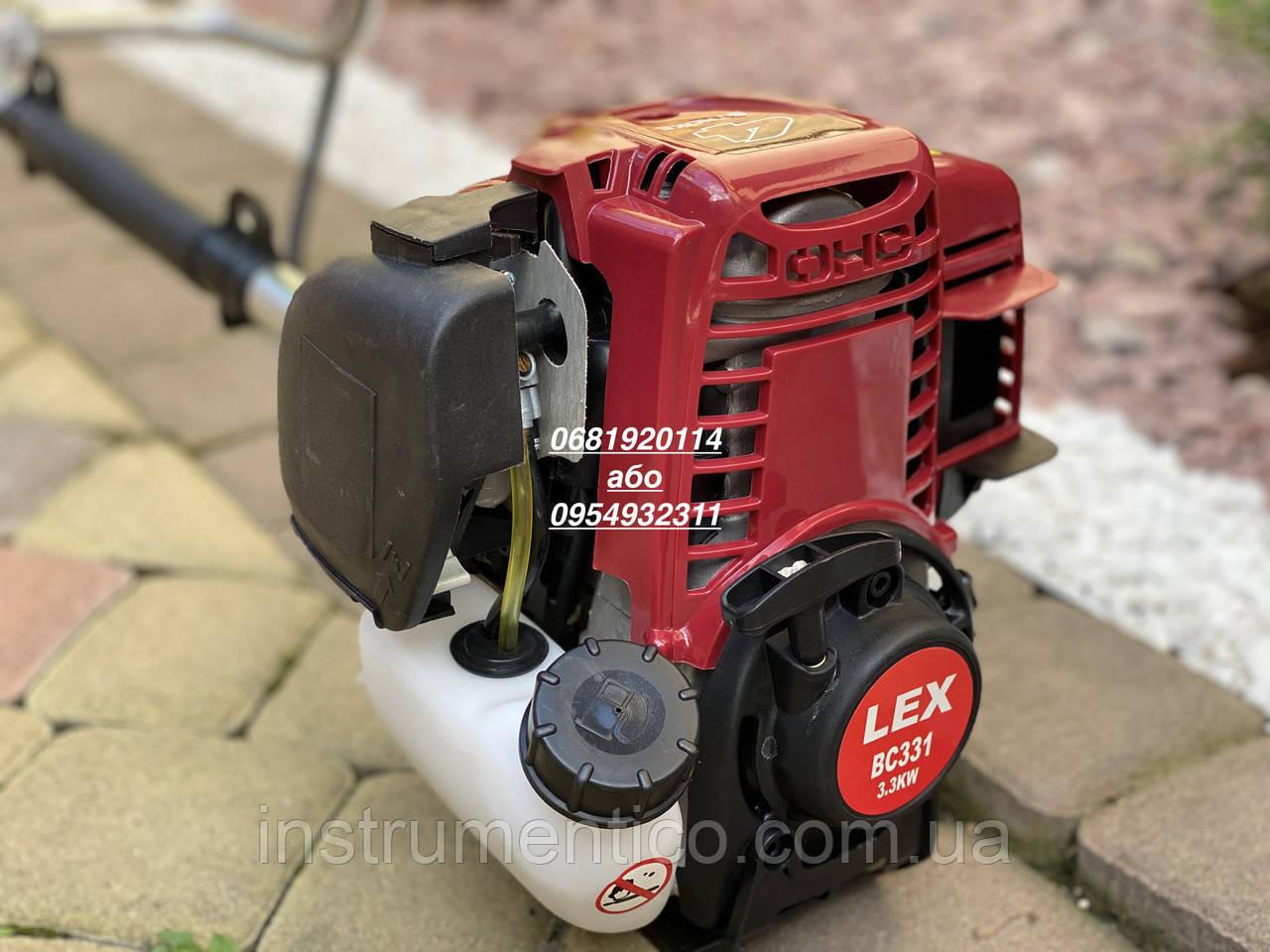 Бензокоса Lex BC 331 4-х тактная мотокоса