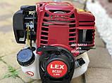Бензокоса Lex BC 331 4-х тактная мотокоса, фото 7