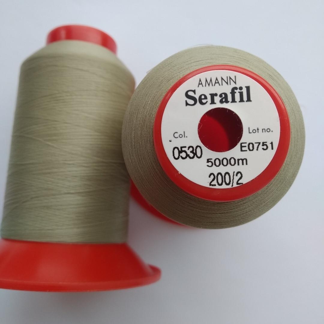 Нитка Serafil Amann 200/2 /0530/5000