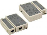 Тестер Cablexpert NCT-1 для RJ45, RG58 кабелів