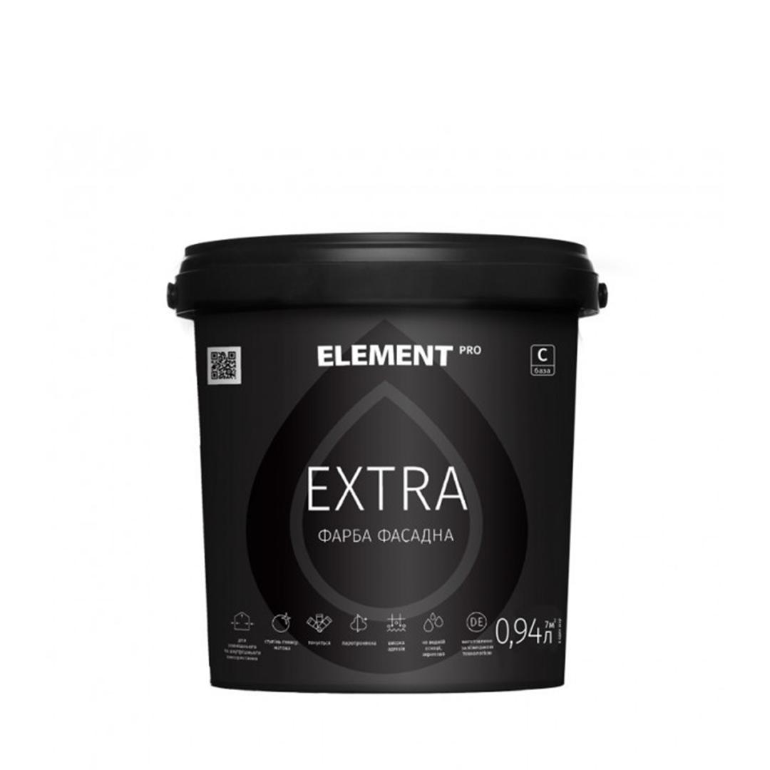 Фасадная краска Element Pro Extra 0,94л (База С) (Элемент Про Экстра)