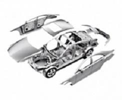 Кузовні деталі (залізо, оптика, салон)