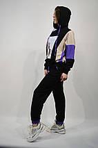 Костюм женский SOGO 090 L Черный c Фиолетовым, фото 3