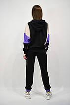 Костюм женский SOGO 090 L Черный c Фиолетовым, фото 2