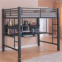 Кровать двухъярусная в стиле Лофт, ЛЛ13