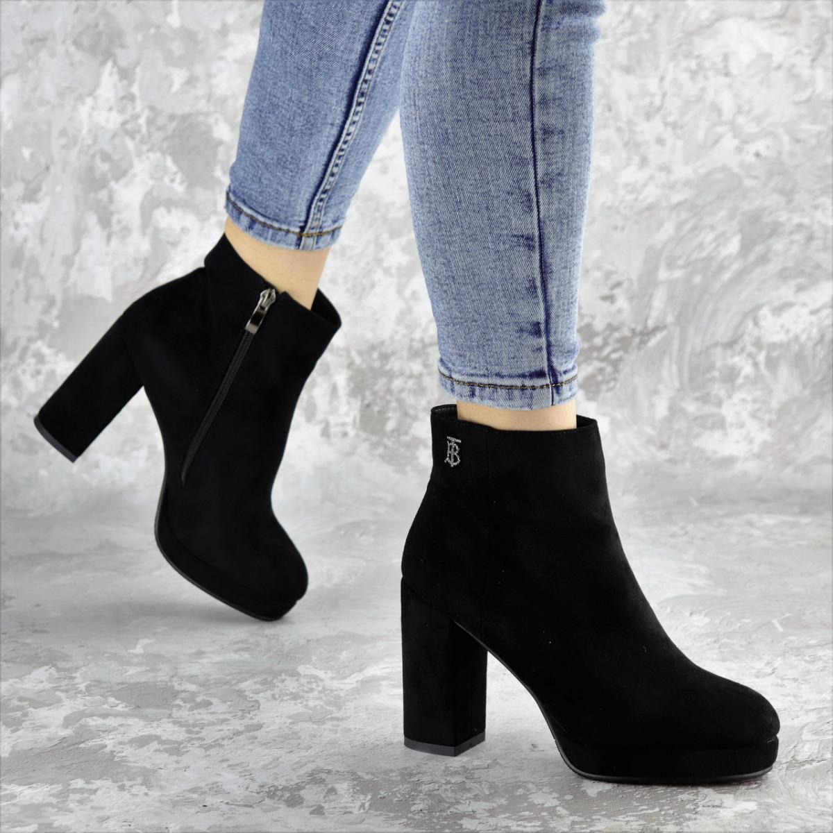 Ботильоны женские Fashion Australia 2428 36 размер 23,5 см Черный