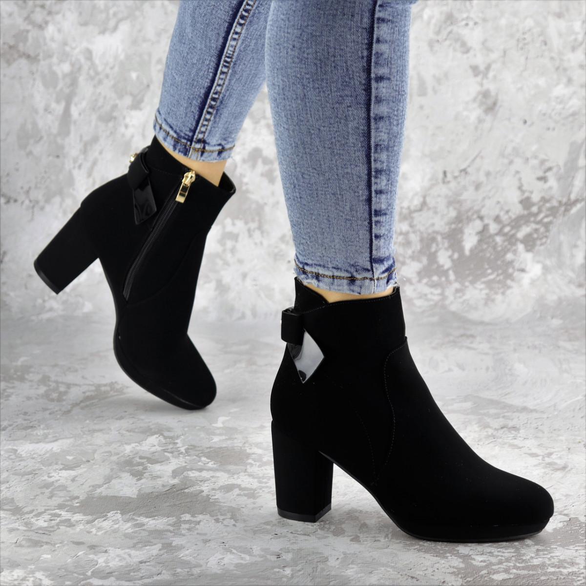 Ботильоны женские Fashion Jeniveve 2293 37 размер 24 см Черный