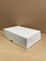 Коробка 225х150х60 для эклерів, зефіра та тістечок, біла