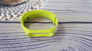 Ремінець для фітнес-бреслета Xiaomi Mi Band 3, Mi Band 4, лаймовий