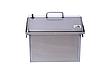 Коптильня горячего и холодного копчения с дымогенератором и термометром для дома (400х300х310), фото 3