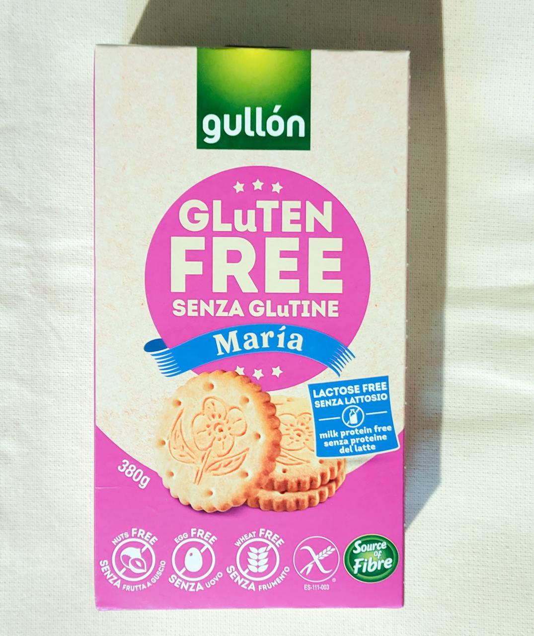 Печенье без глютена Gullon Maria Glutenfree 380 gramm