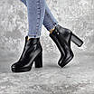 Ботильоны женские Fashion Thunder 2412 35 размер 23 см Черный, фото 7