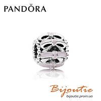 Шарм Pandora НЕЖНЫЕ ЧУВСТВА 791778EN40 серебро 925 розовая эмаль Пандора оригинал