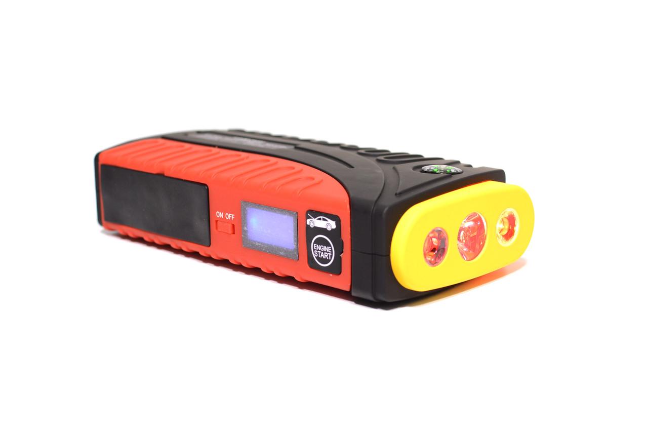 Пусковое зарядное устройство 68800 mАh с портативным компрессором