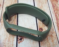 Ремінець для фітнес-бреслета Xiaomi Mi Band 5, хакі