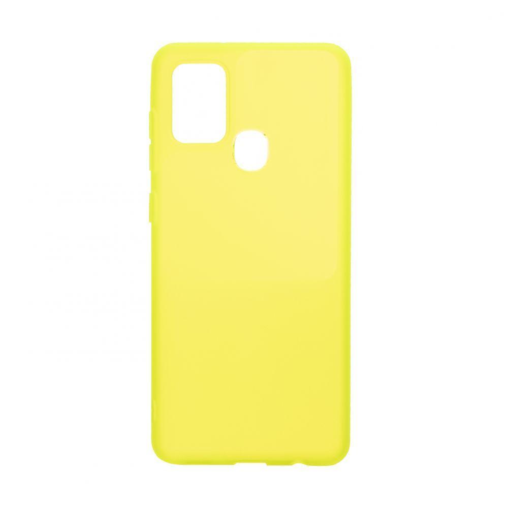 Чехол Bright Silicone for Samsung A21s