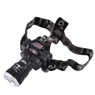 Налобный фонарик  POLICE BL-6879xpe с 3 кратным зумом