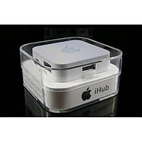 Хаб USB 2.0 4-х портовый IHUB-2 Белый, фото 1