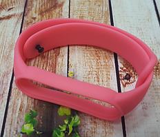 Ремінець для фітнес-бреслета Xiaomi Mi Band 5, рожевий темний