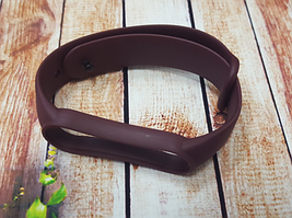 Ремінець для фітнес-бреслета Xiaomi Mi Band 5, гранат