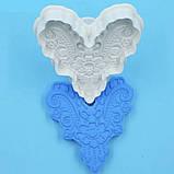 Плунжер Сердце ажурное 1шт (кнопка), фото 9
