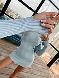 Спортивне коротке плаття з трикотажу рубчик з капюшоном і мітенками (р. 42-46) 71032073, фото 7