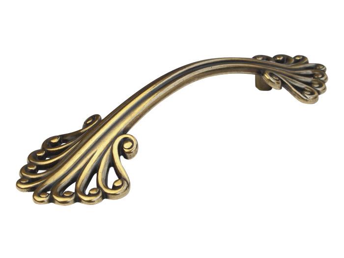 Ручка скоба Virno Style Antique 280/96 античная бронза