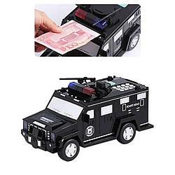 Скарбничка автомобіль банку з кодовим замком для паперових грошей і монет Money Toy Box