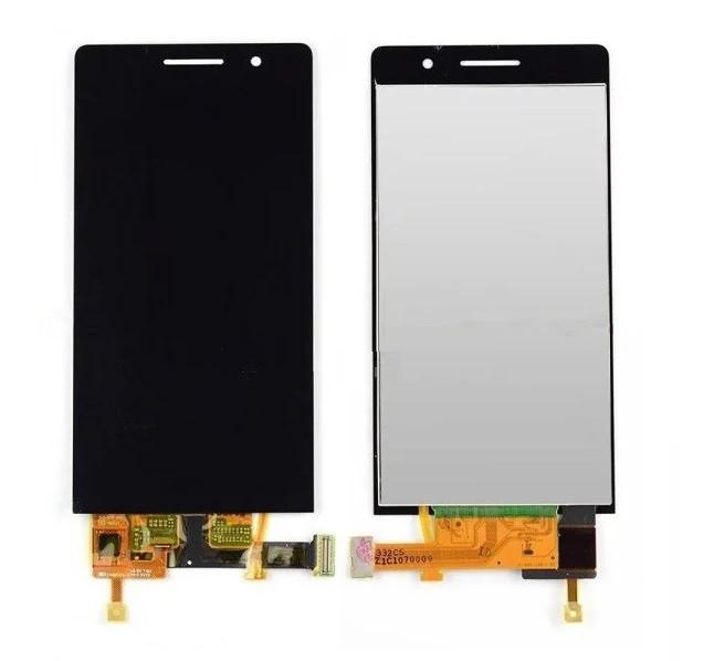 Дисплей для телефона Huawei P6-U06 Ascend с сенсорным стеклом (Черный) Оригинал Китай