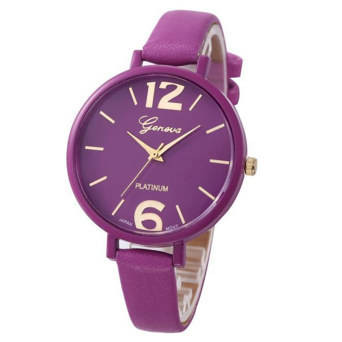 Женские наручные часы Geneva, Фиолетовый