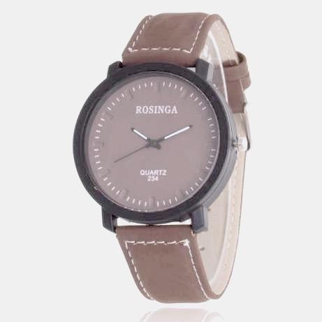 Наручные часы Rosinga, Коричневый, Унисекс