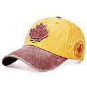 Кепка бейсболка Canada (кленовый лист) Черная, Унисекс, фото 6