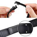 Спортивные силиконовые водонепроницаемые наручные LED часы - браслет 2 в 1, Темно - синий, Унисекс , фото 10