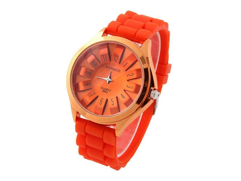Женские наручные часы Womage, Оранжевый